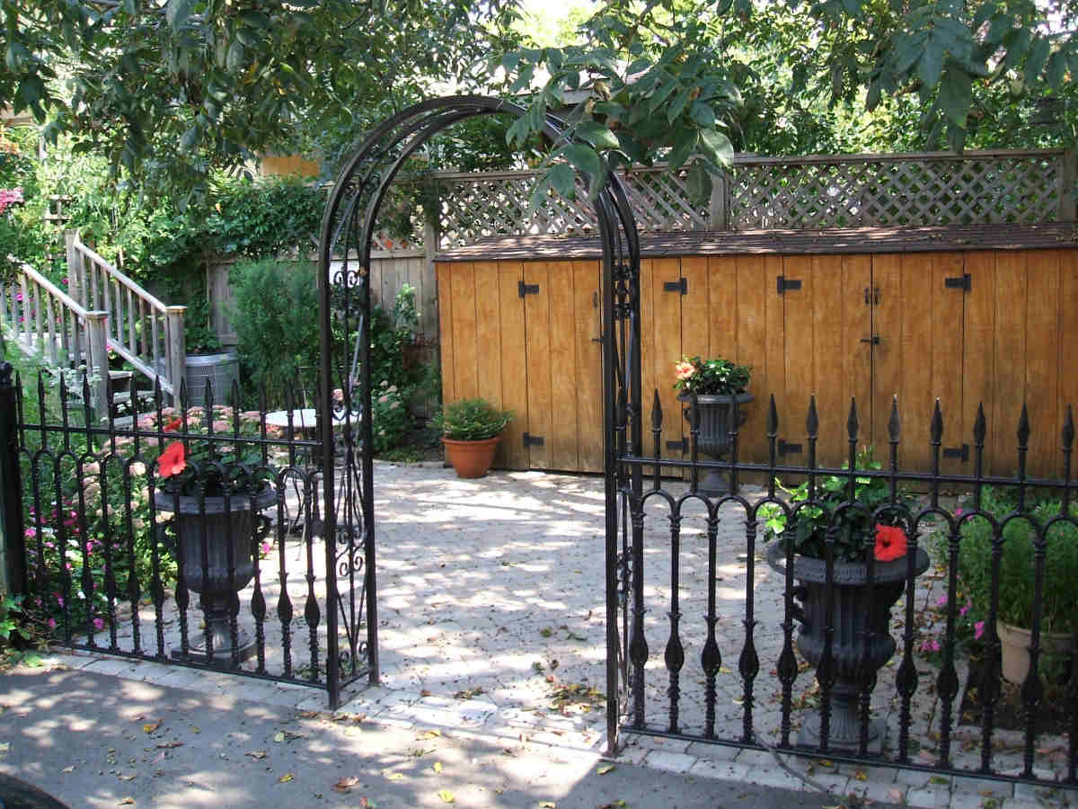 Custom Arbours And Gates Nature 180 S Right Hand