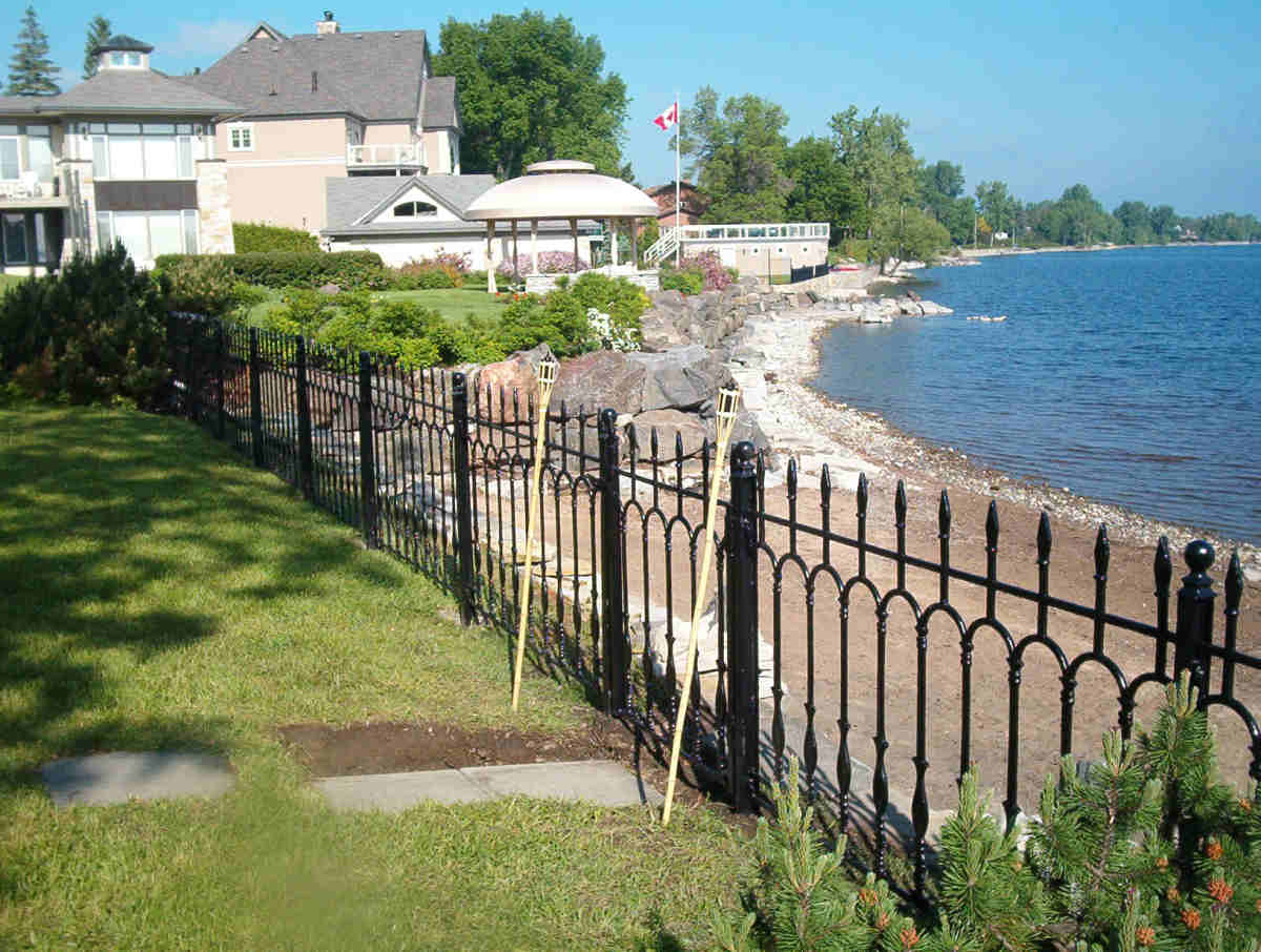 Ottawa Cast Iron Metal Fence Railing Gates And Arbours