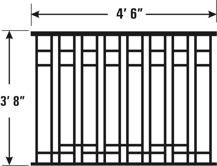 Arts and crafts model of cast iron fencing natures right for The actor s art and craft