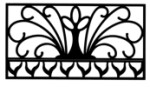 Cast Iron Fence: Phoenix model