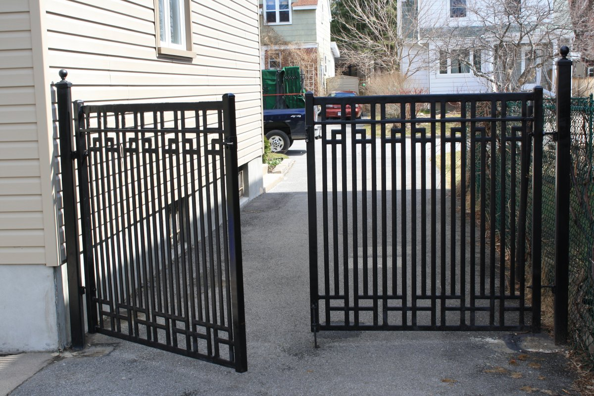 Custom Cast Iron Drive Gates And Electric Gates Nature 180 S